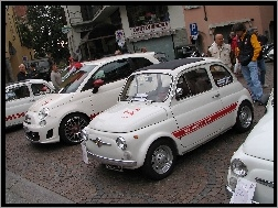 Zlot, Nowy, Stary, Abarth 595